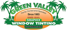 Green Valley Las Vegas Window Tinting Logo Created By The Las Vegas GV Tint Themselves