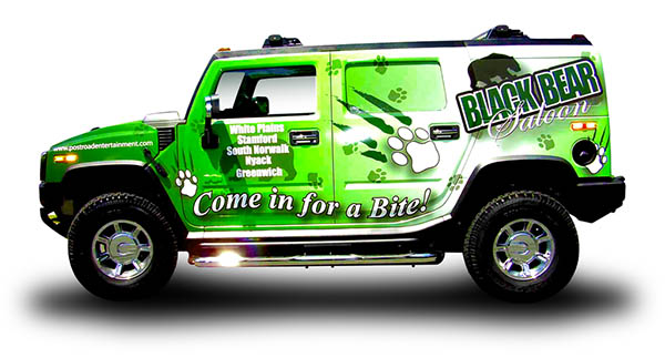 a custom vehicle wrap in las vegas and henderson nv