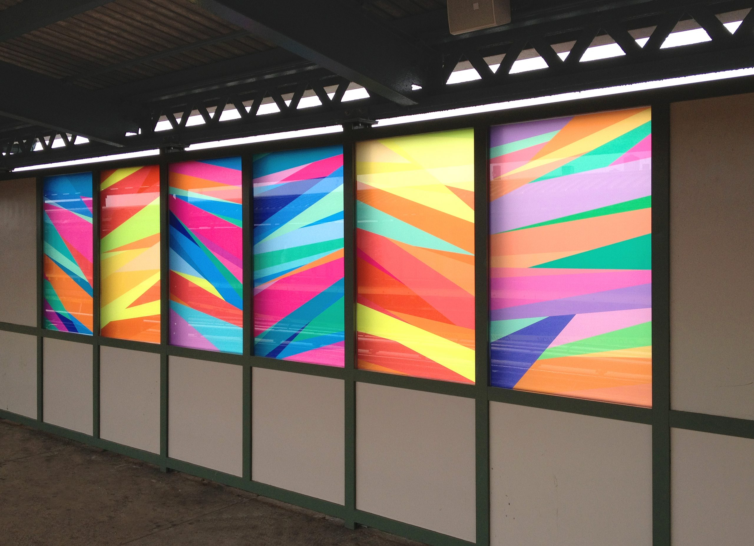 colorful decorative film