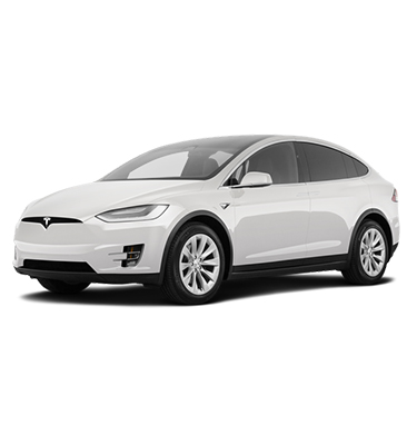 SUV Tesla For Tint Appointment